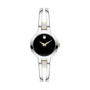 NIB-Movado Amorosa Diamond watch